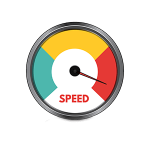 Character Animation Services speed icon